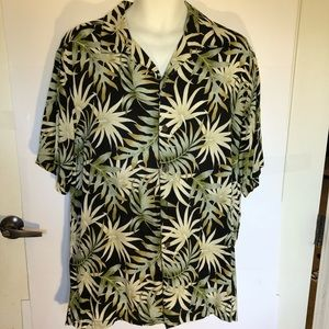 Havana Jack's Cafe Button Up Hawaiian Shirt XL